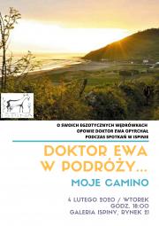 plakat - Moje Camino - Doktor Ewa w podróży