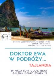 plakat - Doktor Ewa w podróży - Tajlandia