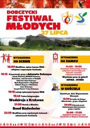 plakat - Festiwal Młodych
