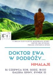 plakat - Doktor Ewa w podróży - Himalaje