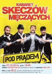 Plakat Kabaret Skeczów Męczących