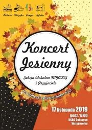 plakat - koncert jesienny