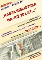 plakat - konkurs plastyczny i literacki