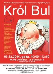 Plakat Król Bul
