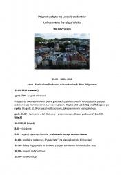 Program wycieczki do Lwowa