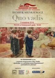 plakat Quo Vadis