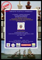plakat - II Otwarty Turniej Szachowy im. Polskich Harcerzy Kresów Wschodnich
