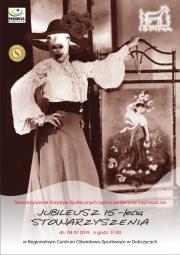 plakat - Jubileusz 15-lecia Stowarzyszenia Ispina
