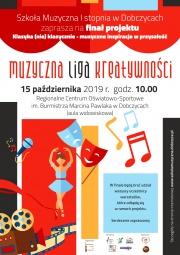 plakat - Muzyczna Liga Kreatywności