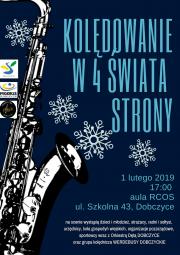 plakat - Kolędowanie w 4 Świata Strony 2019