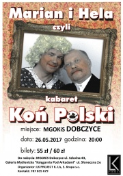 Kabaret - Koń Polski - plakat