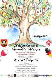 plakat - Koncert Przyjaźni