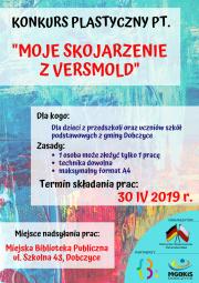 plakat - moje skojarzenie z Versmold