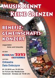 plakat - koncert w Versmold