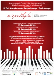plakat - IV Dni Muzykowania Zespołowego i Rodzinnego