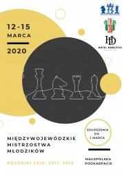 plakat - Międzywojewódzkie Mistrzostwa Młodzików Małopolska - Podkarpacie