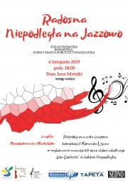 plakat - Radosna Niepodległa na Jazzowo