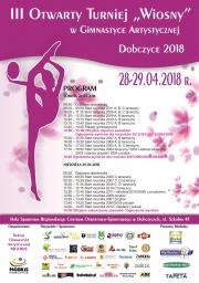 Plakat - III Turniej Wiosny 2018