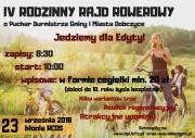 IV Rodzinny Rajd Rowerowy o Puchar Burmistrza Gminy i Miasta Dobczyce