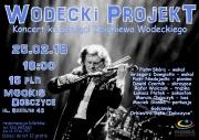 plakat - koncert ku pamięci Zbigniewa Wodeckiego