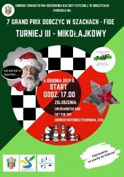 Turniej szachowy - 6 grudnia 2019