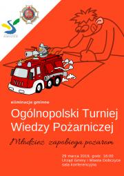 Turniej wiedzy pożarniczej 2019 - eliminacje gminne