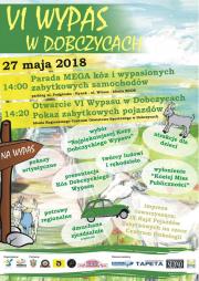 VI Wypas w Dobczycach - plakat