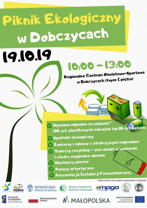 piknik ekologiczny w Dobczycach