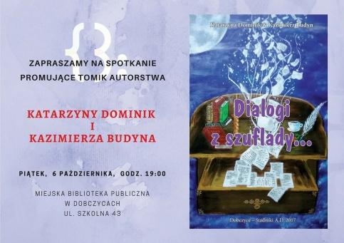 Spotkanie autorskie z Katarzyną Dominik i Kazimierzem Budynem