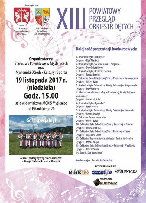 XIII Powiatowy Przegląd Orkiestr Dętych