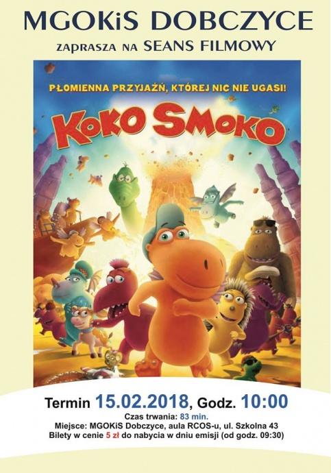 "Plakat filmu ""Koko Smoko"""