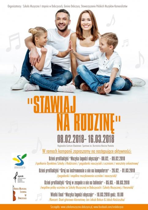 plakat promujący kampanię