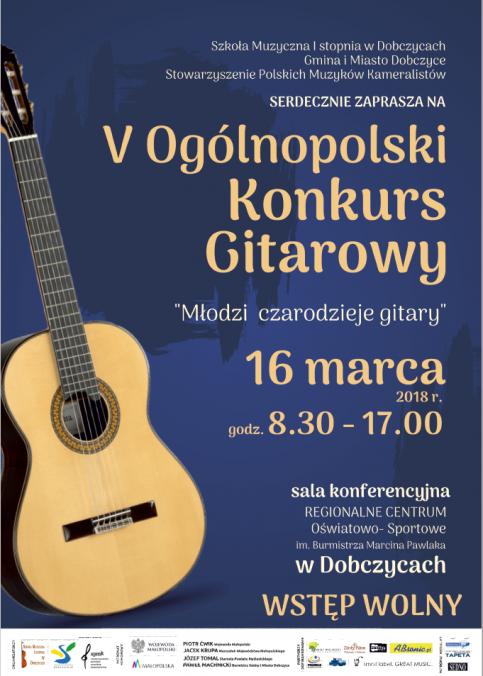 V Ogólnopolski Konkurs Gitarowy