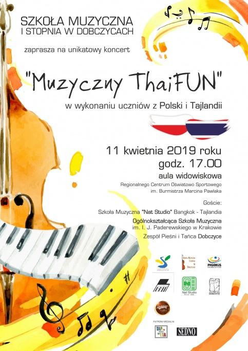 plakat - Muzyczny ThaiFUN