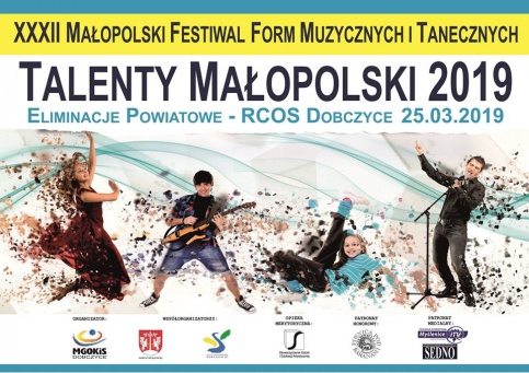plakat - Talenty Małopolski