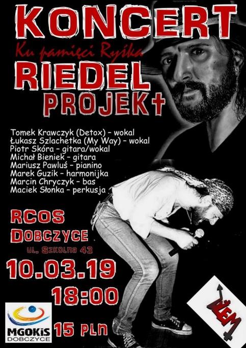 plakat - Riedel projekt