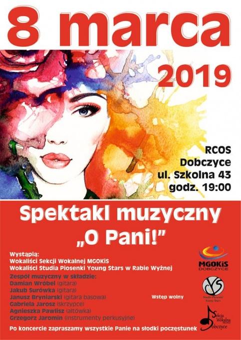 plakat - Dzień Kobiet