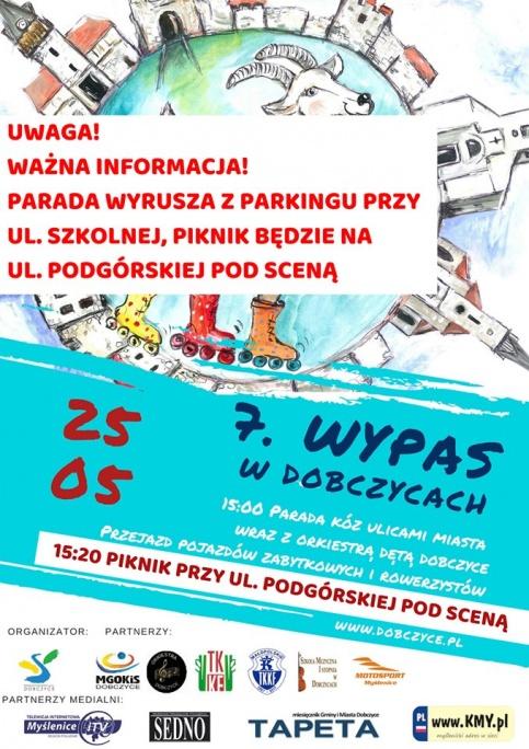 plakat- VII Wypas w Dobczycach