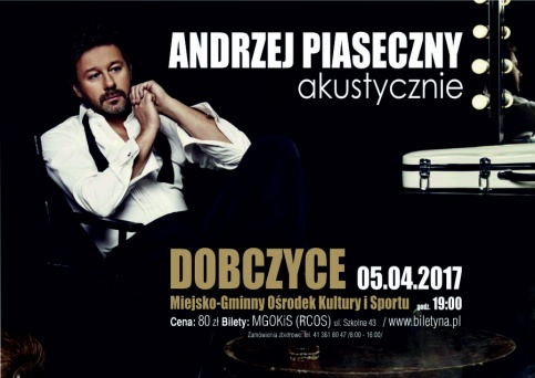 plakat - Andrzej Piaseczny