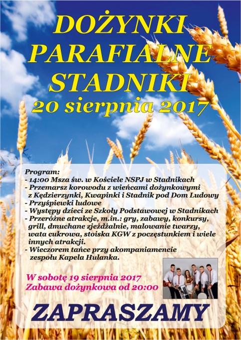 dożynki Stadniki 2017