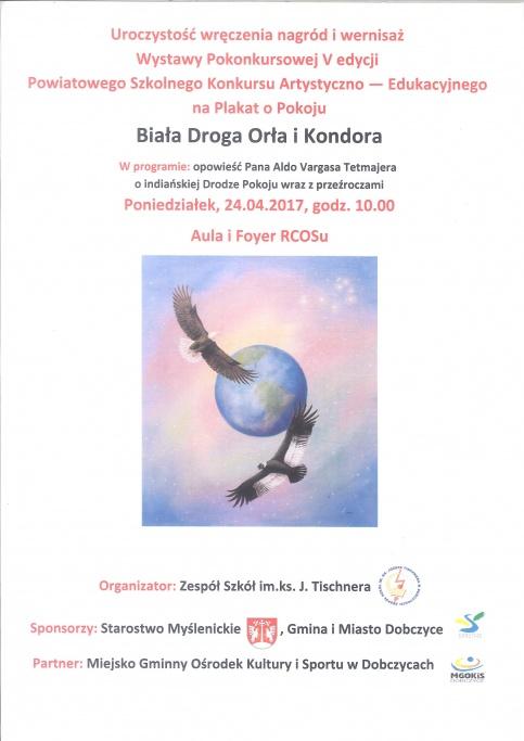 Wernisaż wystawy pokonkursowej na plakat o Pokoju