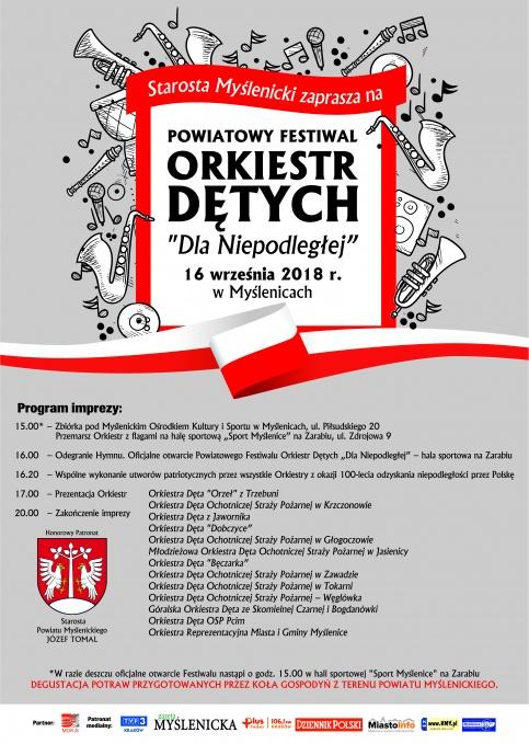 Festiwal orkiestr dętych dla Niepodległej