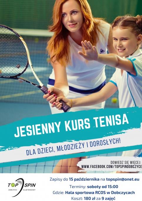 Jesienny kurs tenisa
