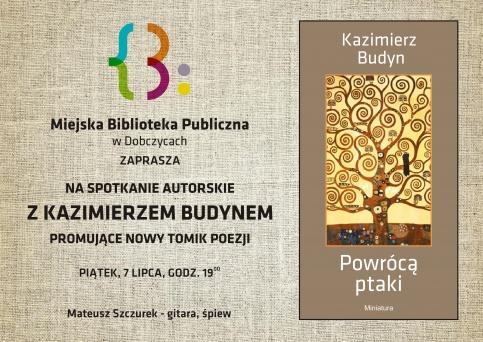 spotkanie autorskie z Kazimierzem Budynem