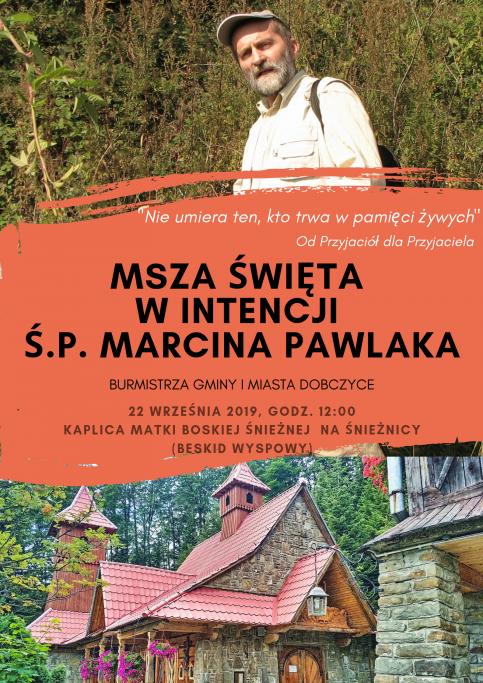 Msza święta za Marcina Pawlaka