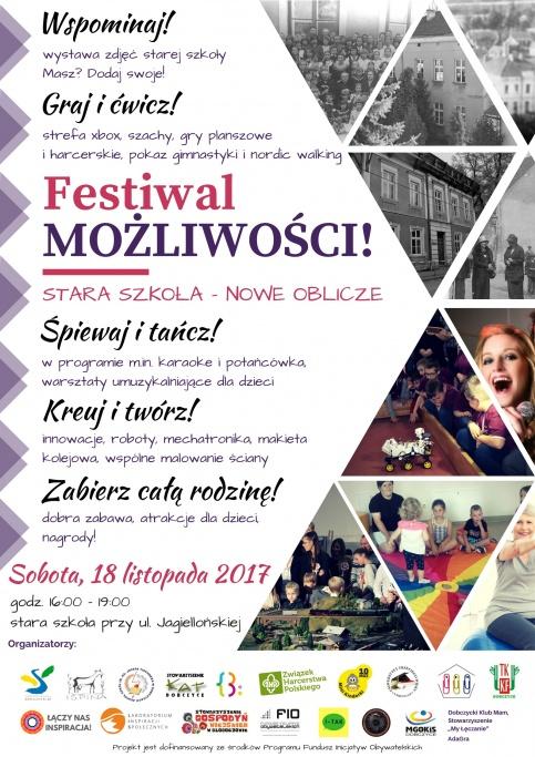 Festiwal Możliwości - plakat