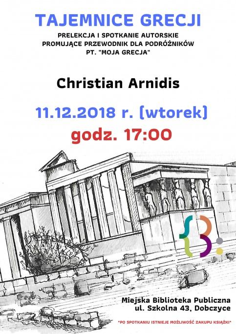 plakat - Grecja spotkanie