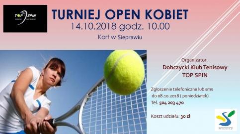 Turniej Open kobiet 2018