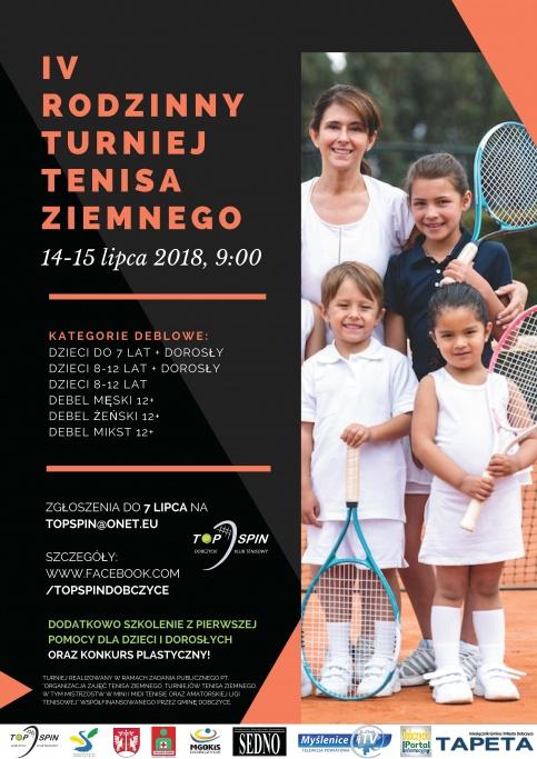 Rodzinny Turniej Tenisa Ziemnego