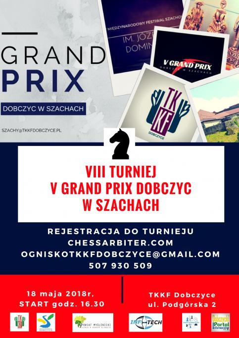 VIII Turniej V Grand Prix Dobczyc w Szachach